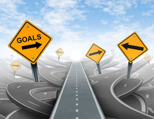 انتخاب هدف با مسیر درست
